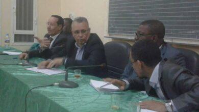 Photo de Le Président de la Commission Nationale des Droits de l'Homme effectue une visite de travail à la Mairie de Tevragh Zeina