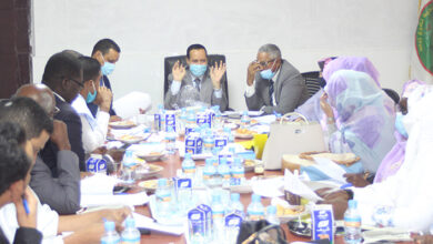 صورة المجلس يجتمع في دورته العادية
