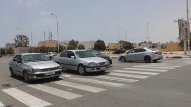 صورة بلدية تفرغ زينه تساهم في تخطيط الشوارع لتنظيم حركة المرور