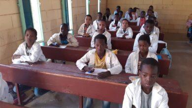 صورة تقرير عن مشروع دعم المدرسة العمومية التابع لبلدية تفرغ زينه